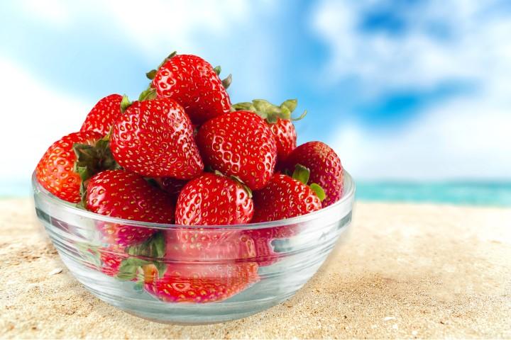הפסקה 16:00 עם פירות במקום עוגה